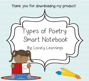 Types of Poetry Smart Notebook