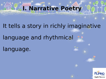 Types of Poetry and Poetic Plays
