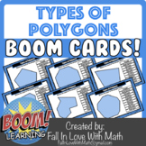 Types of Polygons Boom Cards!