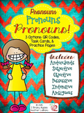 Pronouns QR Code/Task Card Activity