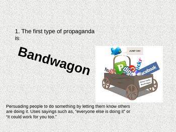 Types of Propaganda (1)