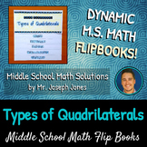 Types of Quadrilaterals Flip Book