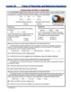 Types of Reactions & Balancing Equations - Guided Study Notes for HS Chemistry