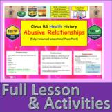Types of Relationships including abusive relationships SRE