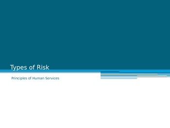 Types of Risk for FACS Human Services