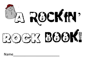 Types of Rock Book: Notes, Rock  Cycle, Stations, Centers, Sort, Cut & Paste