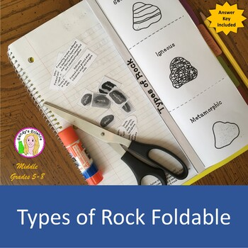 Types of Rock Foldable (free)