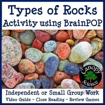 Types of Rocks Brain Pop