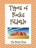 Types of Rocks Foldable