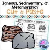 Types of Rocks Sort: Igneous Sedimentary or Metamorphic?