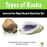 Types of Rocks Interactive Clickers Question Set