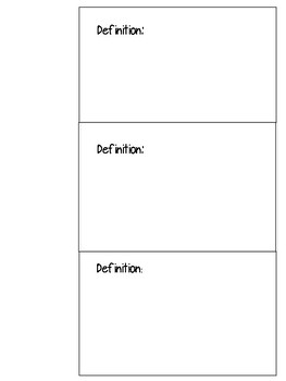 Types of Rocks Interactive Notebook