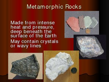 Types of Rocks Intro Powerpoint