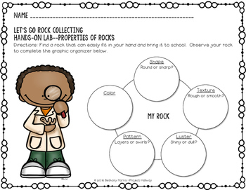 Properties of Rocks: Let's Go Rock Collecting {A Read About Science Resource}