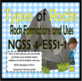 Types of Rocks NGSS 4-ESS1-1