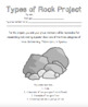 Types of Rocks Project