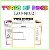 Types of Rocks Project | Print Version & Digital Google Sl