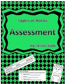 Types of Rocks Quiz
