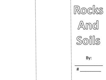 Types of Rocks, Soil - Science Brochure/Foldable