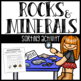 Types of Rocks Sort