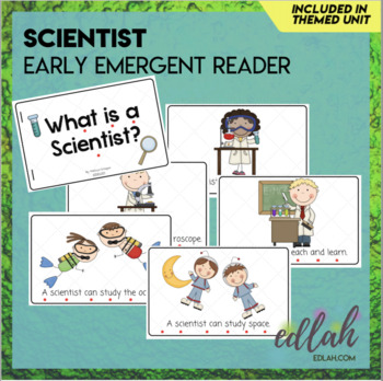 Types of Scientist Early Emergent Reader