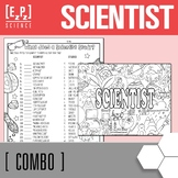 Types of Scientist Seek & Find, Cardsort & Assignment Combo