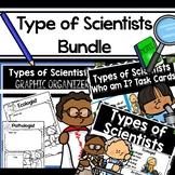 Types of Scientists Bundle