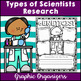 Types of Scientists Research Graphic Organizers