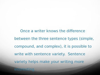 Types of Sentence Powerpoint