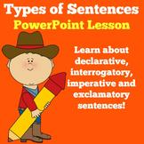 Types of Sentences | Kindergarten 1st 2nd 3rd Grade | Powe