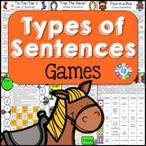 Types of Sentences Games (Declarative, Interrogatory, Excl