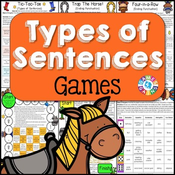 Types of Sentences Games (Declarative, Interrogatory, Excl