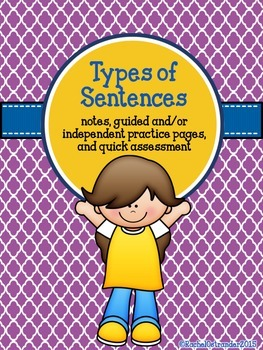 Types of Sentences - A Week of Practice