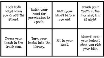 Types of Sentences BINGO!