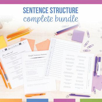 Types of Sentences Grammar Set: Simple, Compound, Complex, Compound-Complex