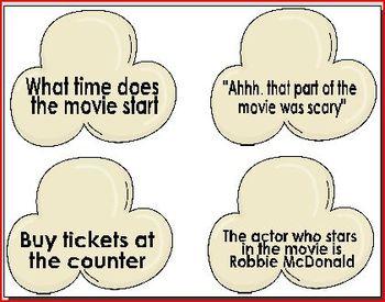 Types of Sentences Center
