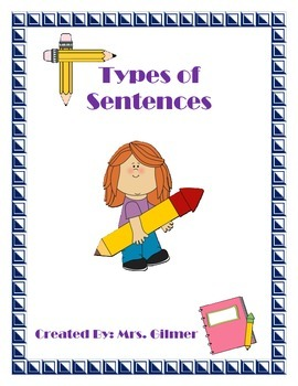 Types of Sentences Charts and Sort