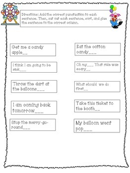 Types of Sentences: Commands and Exclamatory Sentences