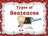 "Types of Sentences DISPLAY POSTERS ""Basic Terms"""