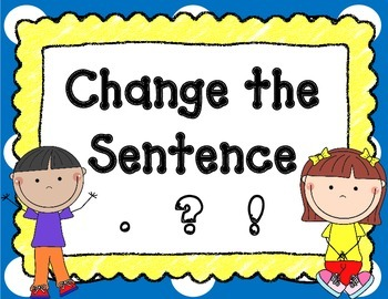 Types of Sentences- Declarative, Interrogative, Imperative, & Exclamatory