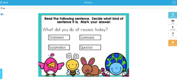 Types of Sentences Digital Boom Task Cards