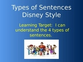 Types of Sentences Disney Style