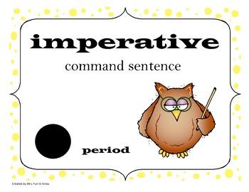 Types of Sentences ****FREEBIE****