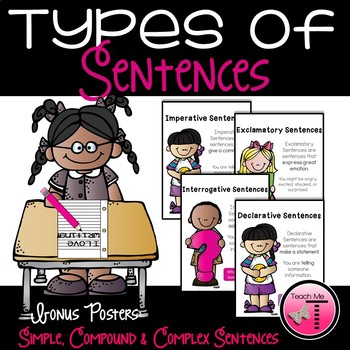 Types of Sentences {Featuring Melonheadz}
