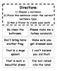 Types of Sentences File Folder Game
