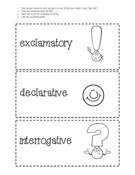 Types of Sentences Flip Page