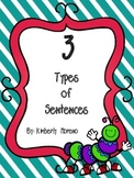 Types of Sentences Foldable FREEBIE