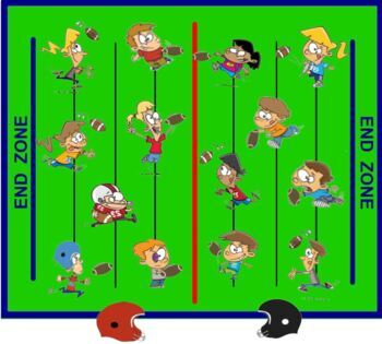Types of Sentences Football Lesson and Game