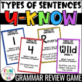 Types of Sentences Game | U-Know Review Game | Sentence Types
