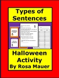 Types of Sentences Halloween